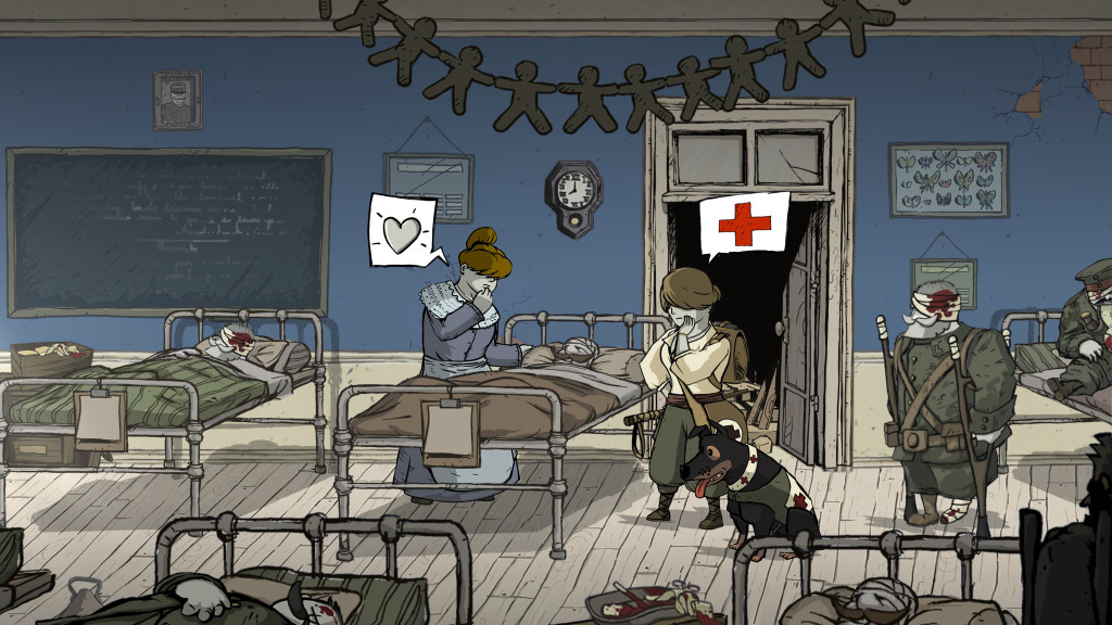 """Valiant Hearts: The Great War"" highlights the horrors faced by normal people in extraordinary circumstances. (Ubisoft Montpellier/MCT) ** OUTS - ELSENT, FPG, TCN - OUTS **"