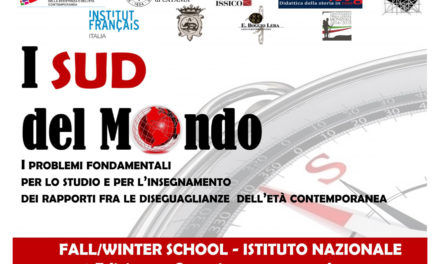 Fall/Winter School: i SUD del Mondo