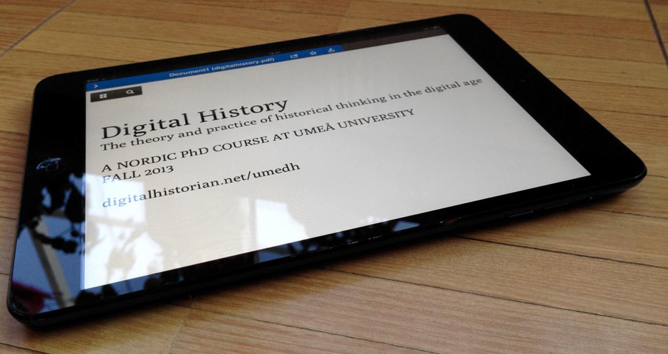 La storia nell'era digitale