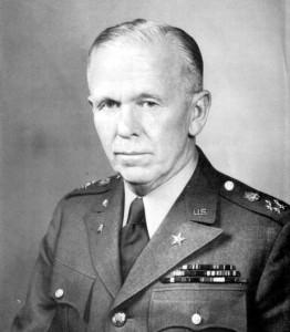 George Catlett Marshall ritratto durante l'incarico di Capo di stato maggiore dell'esercito degli U.S.A. (1 Settembre 1939-18 Novembre 1945) - Foto  dell'US Army's Center of Military History