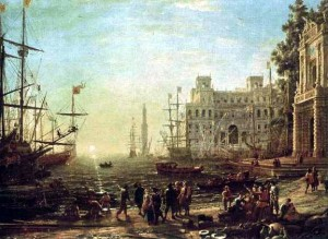 Seaport: Claude Lorrain, 1638