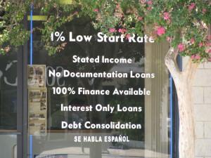 Offerta mutui subprime nel 2008