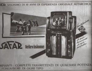 Televisione autarchica: pubblicità fascista