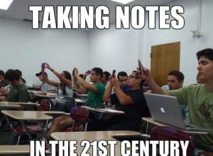 Prendere appunti nel 21esimo secolo