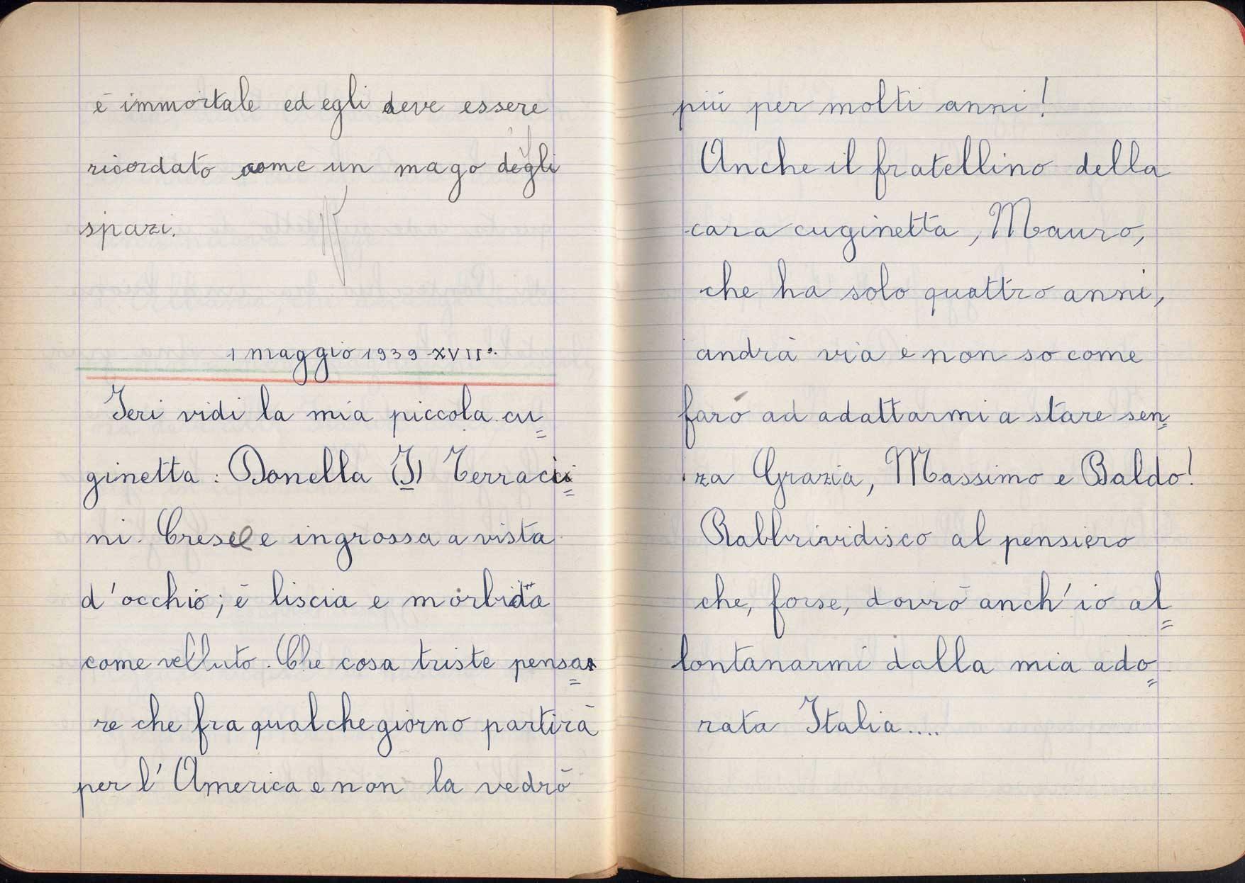 Risultati immagini per diario scritto da un bimboo