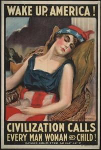 Wake up America, prima guerra mondiale