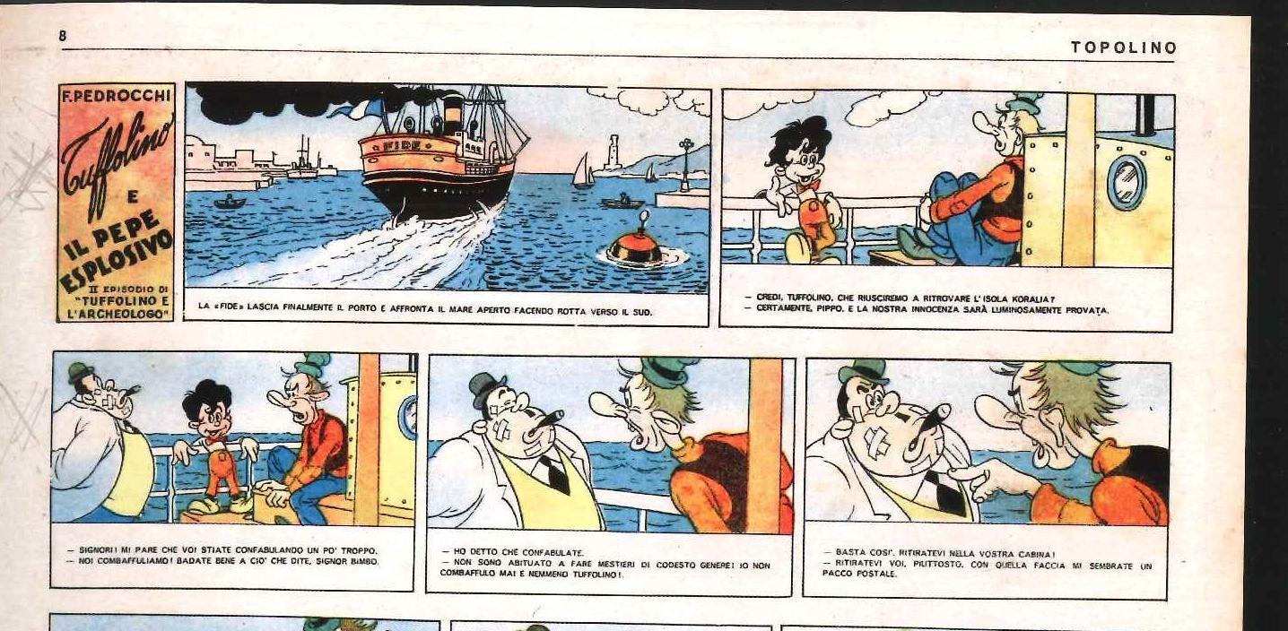 """""""Eccetto Topolino"""". Il fumetto in Italia durante il regime fascista"""