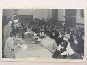 20) I soci della cooperativa di consumo di Ribolla in una foto del 1950, Archivio Storico Unicoop Tirreno