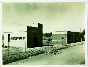Alloggi operai a Ribolla. Il repertorio fotografico è stato tratto dal volume curato da Cipriani Massimo, La miniera a memoria, Roccastrada, 2004