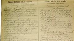 Una proposta di laboratorio del tempo presente: l'analisi del registro di una classe mista rurale del secondo dopoguerra