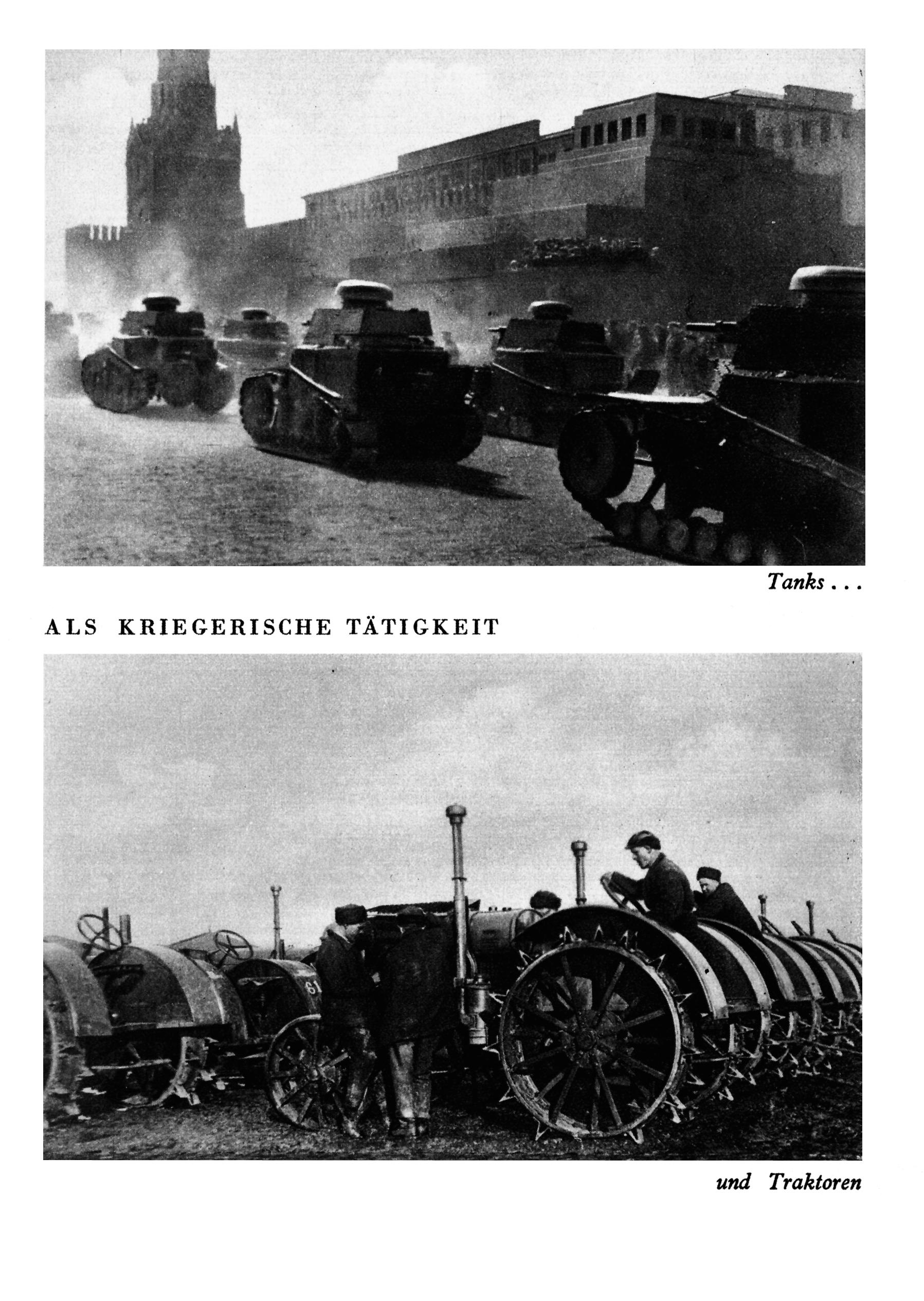 Carri armati e trattori