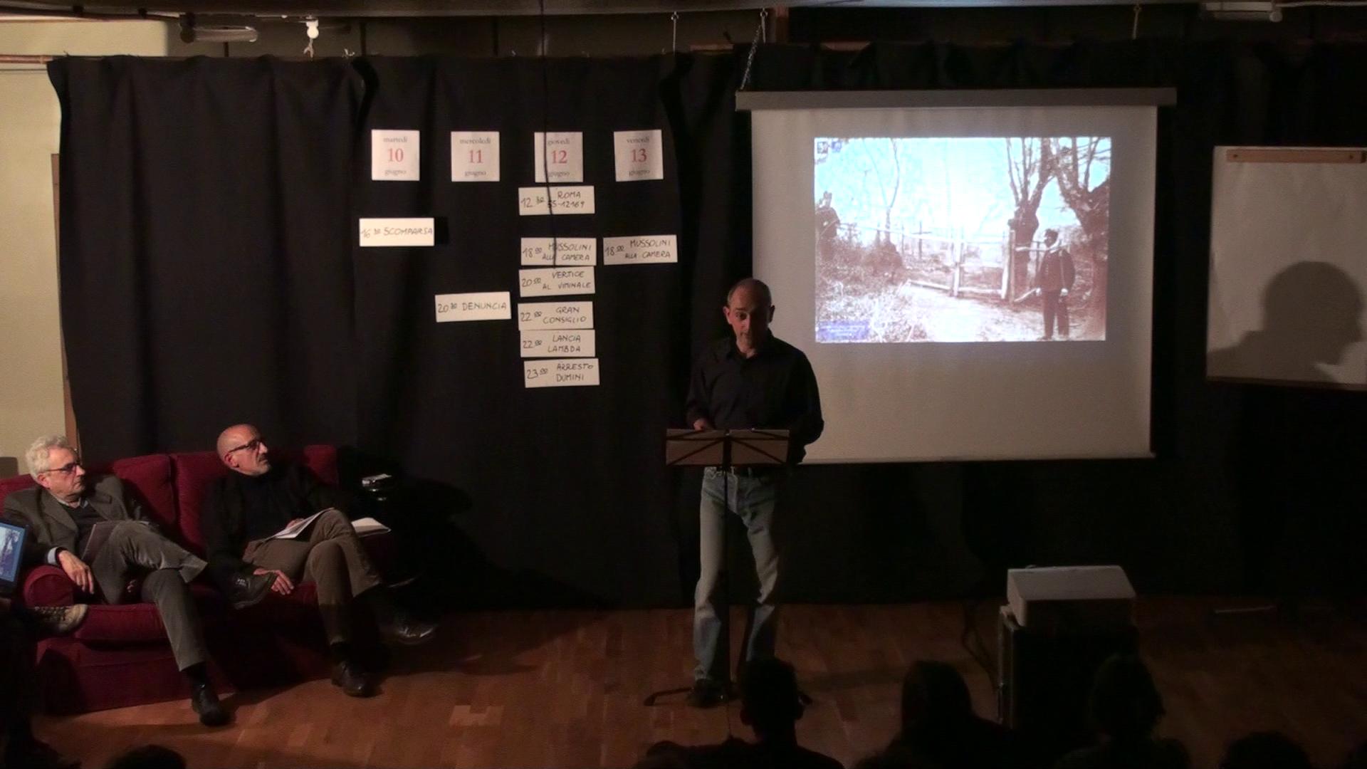 """Il """"Matteotti"""": work in progress per un viaggio in Italia tra teatro, ricerca e didattica"""