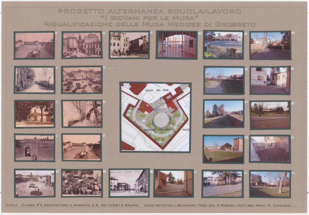 I progetti dei ragazzi: recupero del Bastione Cavallerizza, studio del Bastione, Classe IV A anno scolastico 2013/2014