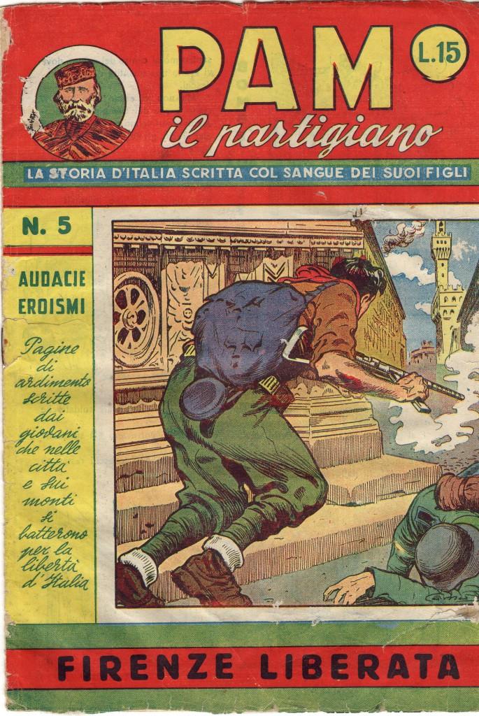 Fig. 12: Copertina del numero 5 di «PAM il partigiano»