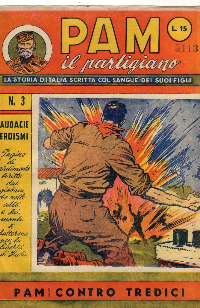 Fig. 9: Copertina del numero 3 di «PAM il partigiano»