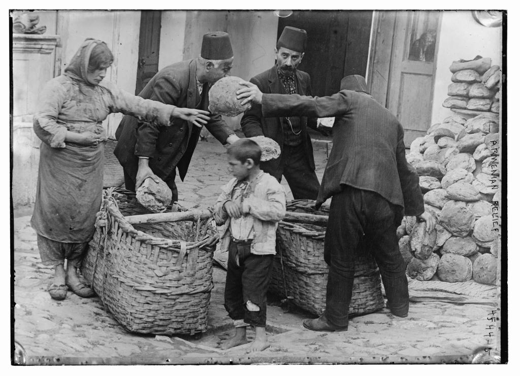 immagini storiche del genocidio armeno