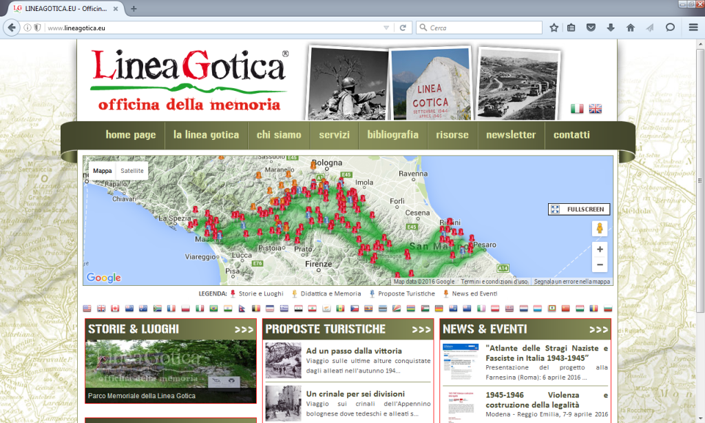 Fig. 6 - Linea Gotica-Officina della memoria (http://www.lineagotica.eu/)