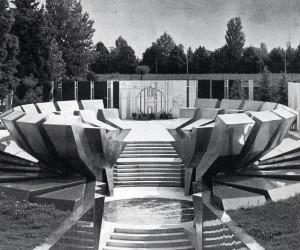 Miodrag Živković, Sacrario memoriale dei caduti jugoslavi, Gonars, 1970-1973. Per gentile concessione di Miodrag Živković.