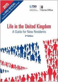 Fig.1 La guida per gli aspiranti cittadini inglesi