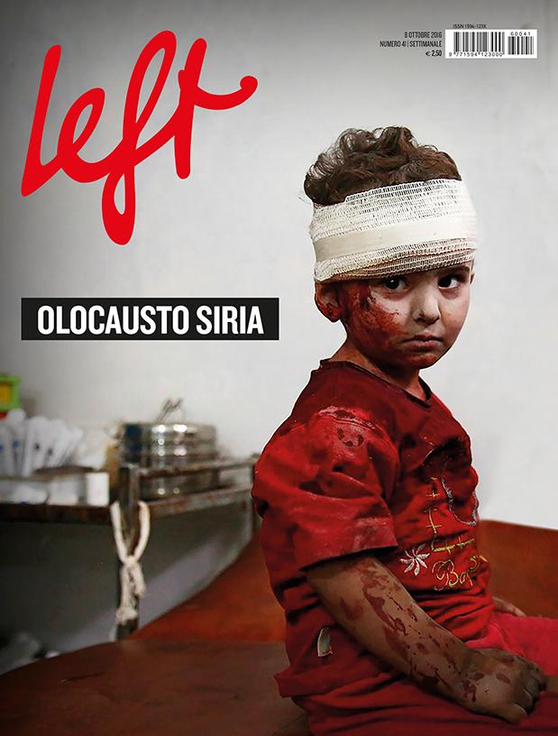 La copertina di Left n. 41
