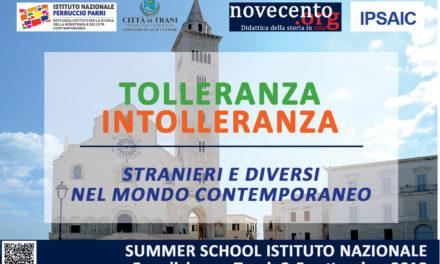 Tolleranza/Intolleranza. Stranieri e diversi nel mondo contemporaneo