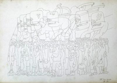 Studio per il Museo del deportato di Carpi