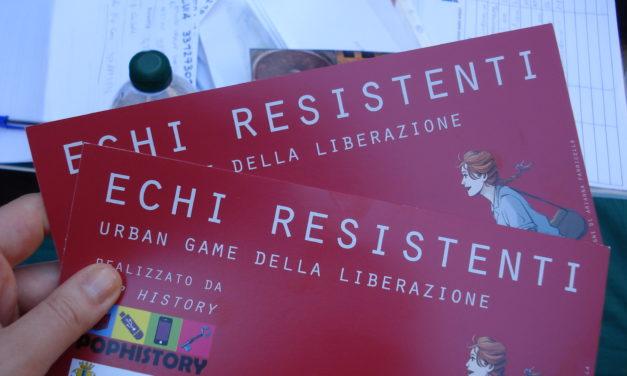 Echi resistenti. Urban game della Liberazione