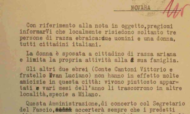 Di pura legge italiana? La vera origine del RDL n. 1728 Provvedimenti per la difesa della razza italiana