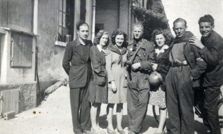 Partigiani presso gli stabilimenti Ercole Marelli