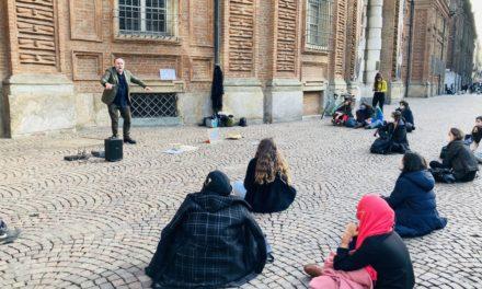 Insegnare la storia a teatro. Dialogo con l'attore, drammaturgo e regista Marco Gobetti